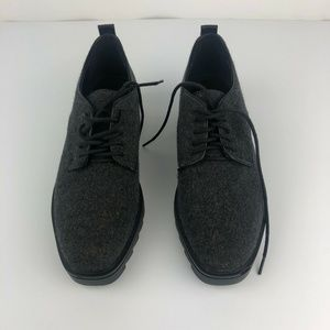 Zara Women's Size 10 Lace Up Gray Shoes